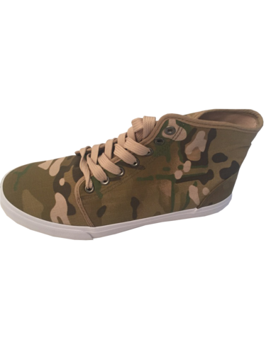 Army Sneacker Chucks in Multitarn - Neu mit Etikett