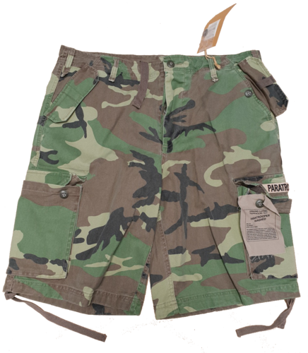 US Bermuda Shorts Paratrooper woodland